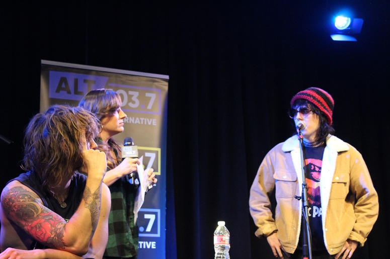 The Struts Live At The Verizon Artist Lounge