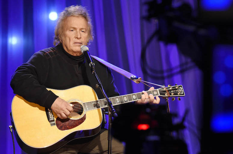 Don McLean, Singing, Concert, Guitar, Sitting