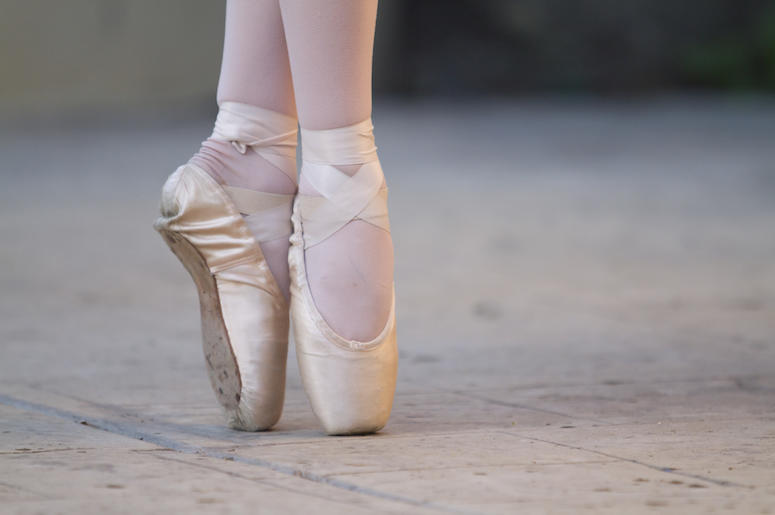 Ballet, Shoes, Pointe