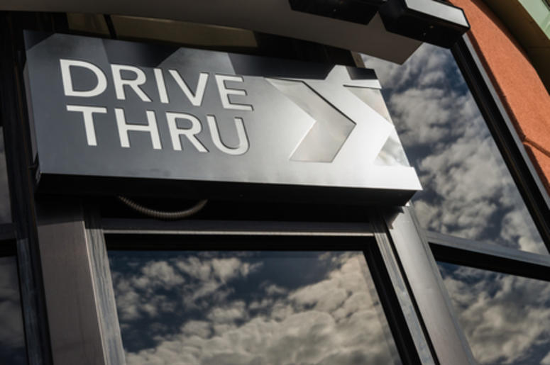 Drive-Thru Window
