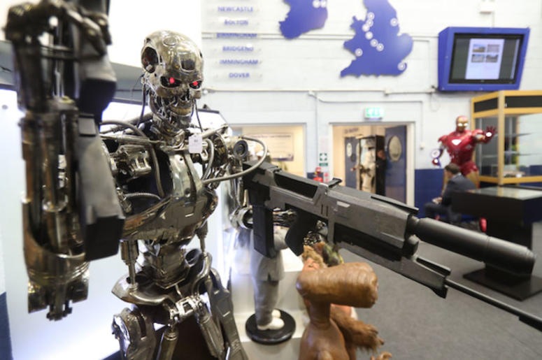 Terminator, Replica, Rifle, Movie