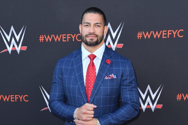 Roman Reigns, Red Carpet, Suit, WWE