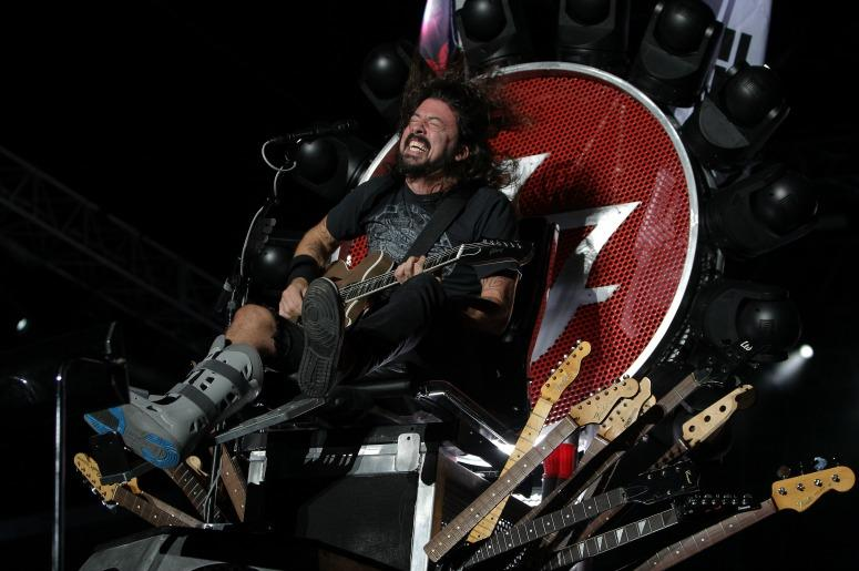 Dave Grohl Throne