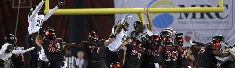 Aztecs Lose 3rd Straight & 4 of Last 5 To Close the Year