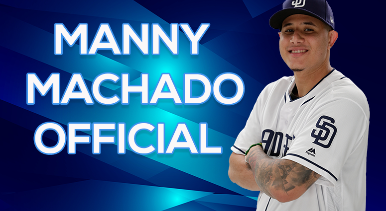 It's Official: Padres Sign Manny Machado