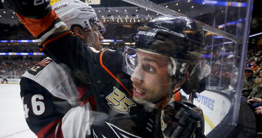 Anaheim Ducks left wing Andrew Cogliano