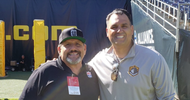 Dan Sileo at the San Diego Fleet Game