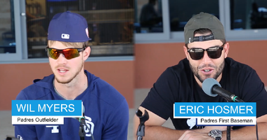 Behind the Scenes At Padres Spring Training!