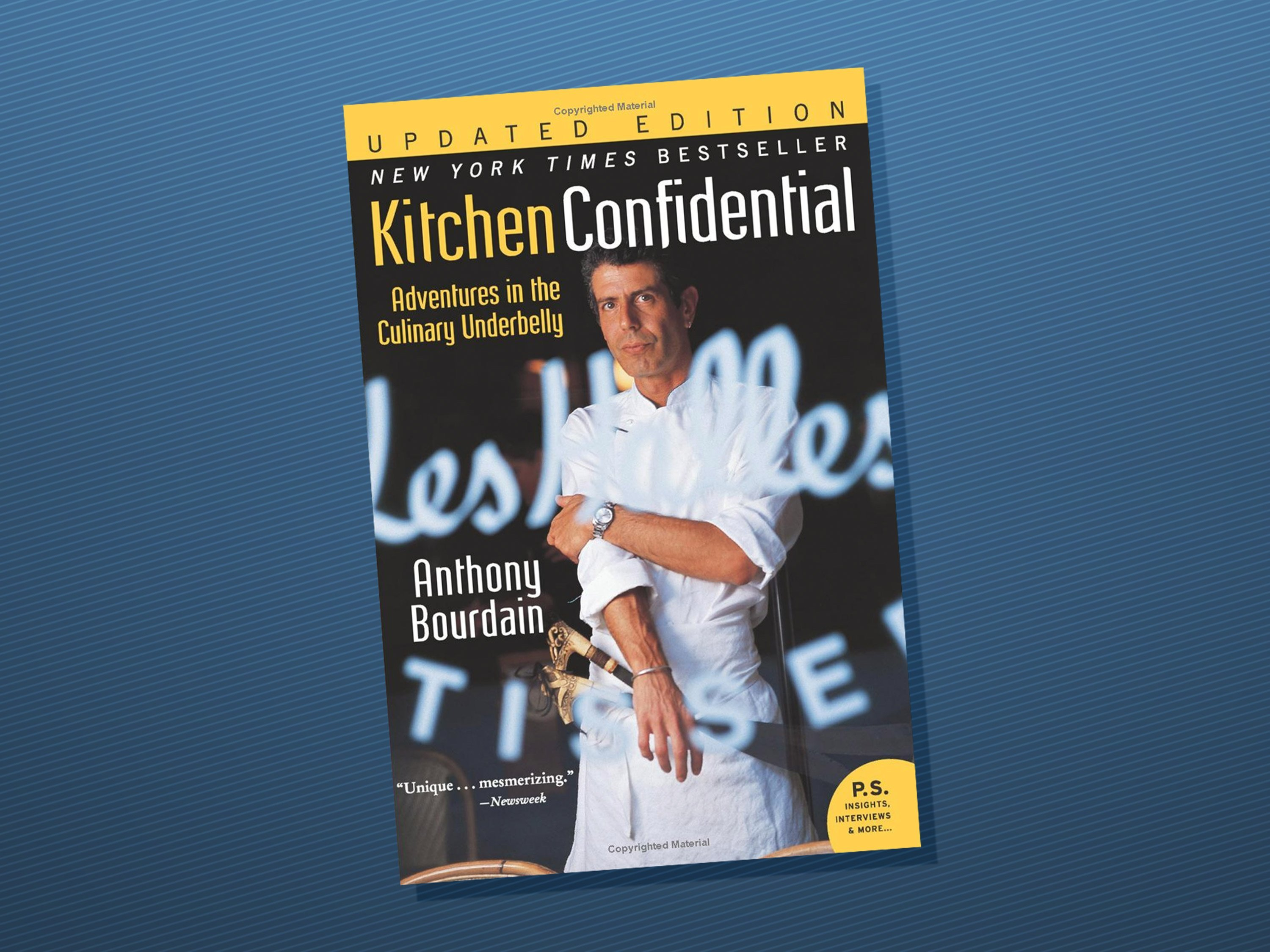 Anthony Bourdain\'s \'Kitchen Confidential\' becomes Amazon top seller ...