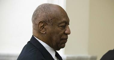 Bill Cosby walks from the courtroom during a break in his sexual assault trial.