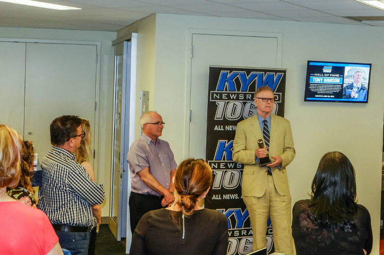 KYW Newsradio Hall of Famer Tony Hanson