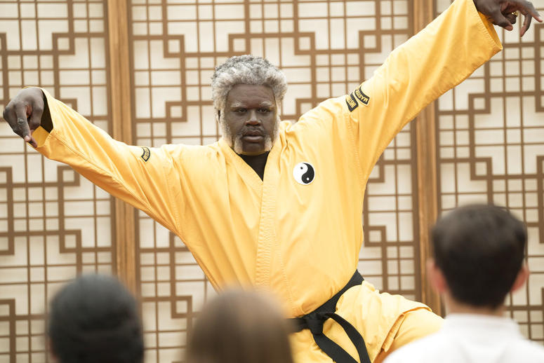 """This image released by Lionsgate shows Shaquille O'Neal as Big Fella in a scene from the film, """"Uncle Drew."""""""