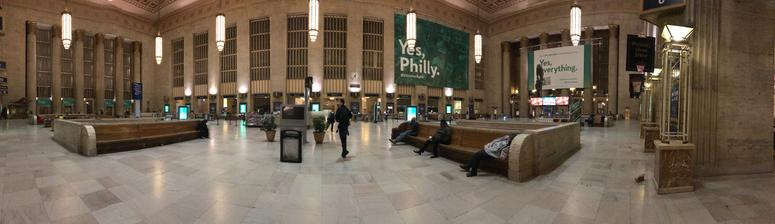30th Street Station.