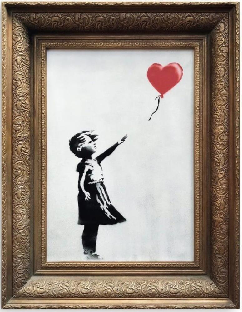 'We just got Banksy-ed': £1m painting self-destructs at sale
