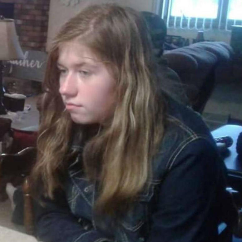 Undated handout photo of missing 13-year-old Jayme Closs.