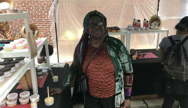 Victoria Onwuchekwa, owner of Chic Afrique Herbals, said she's glad the 43rd annual street festival gives her a platform to share African culture with the world.