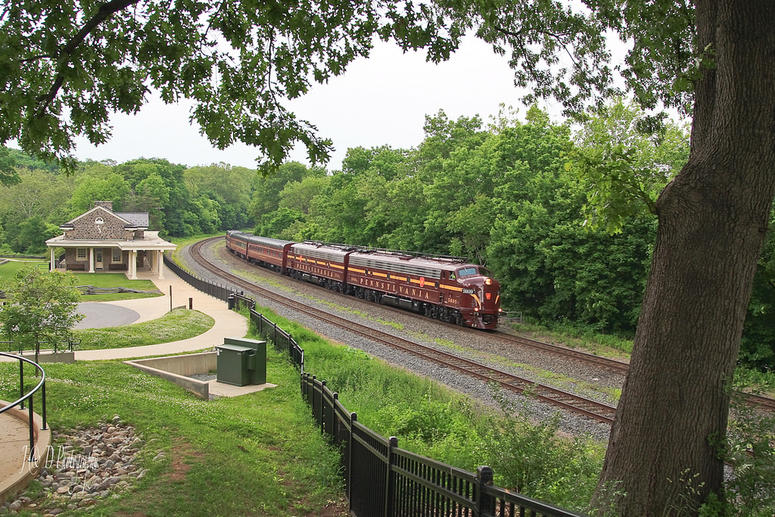 In 1985, Bennett Levin acquired the very same Tuscan red Pennsylvania No. 120 railcar for $75,000, rather than see it head to the scrap heap.