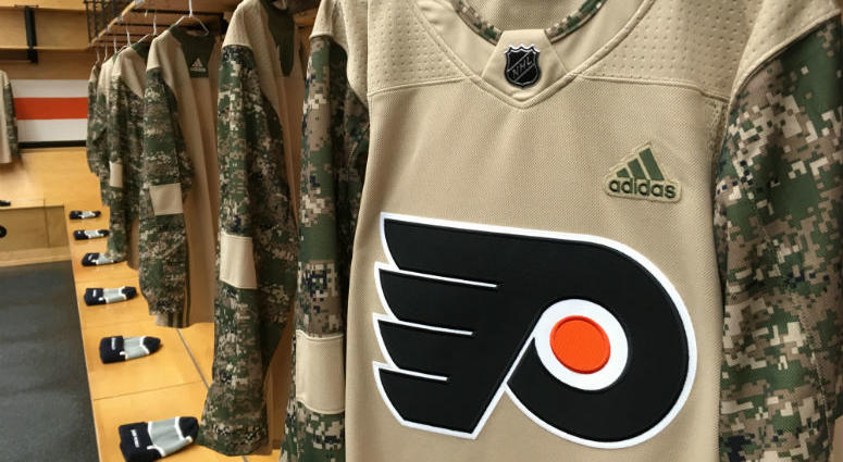 The Philadelphia Flyers and the NHL have announced the formation of the Flyers Warriors hockey team.