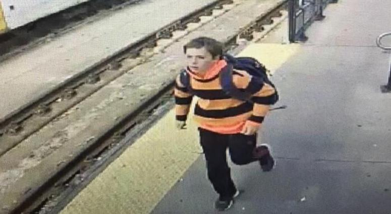 The Morris County Prosecutor's Office released this photo of 15-year-old Thomas Kolding on Nov. 7, captured on camera in Camden.