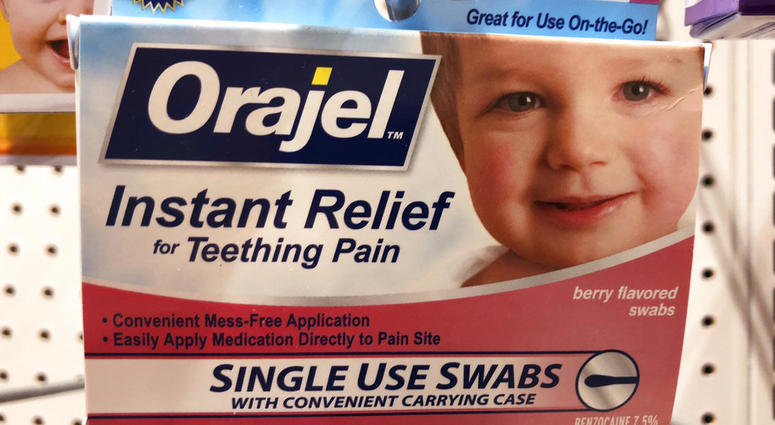 The US Food and Drug Administration is warning parents about potentially deadly risks of teething remedies that contain a numbing ingredient used in popular brands like Orajel.
