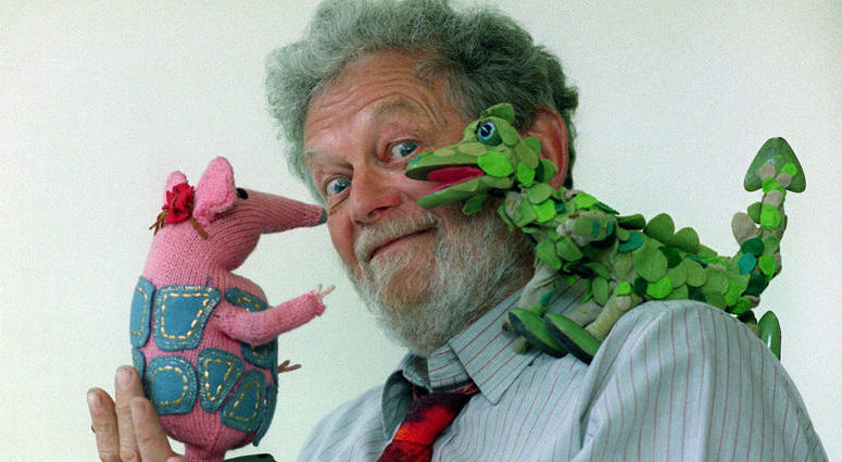 Peter Firmin, creator of the children's stop-motion television series The Clangers, who has died at the age of 89, according to a statement from the show's production company Sunday July 1, 2018.
