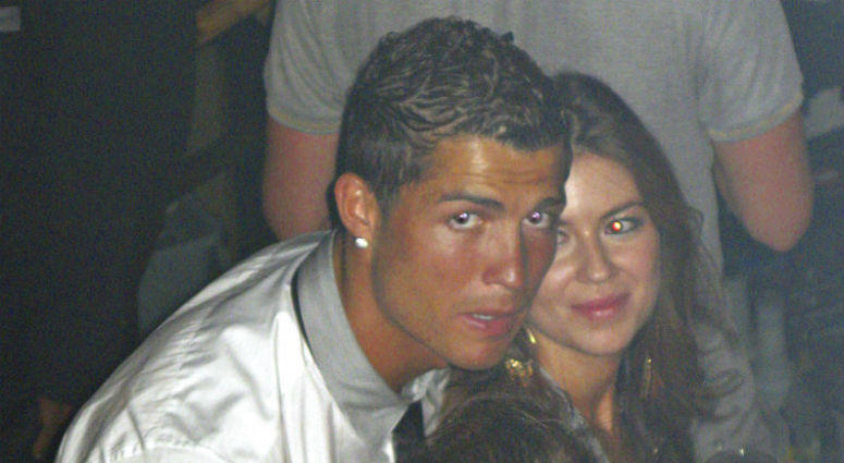 Cristiano Ronaldo with Kathryn Mayorga