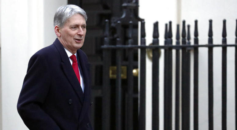 Chancellor of the Exchequer Philip Hammond