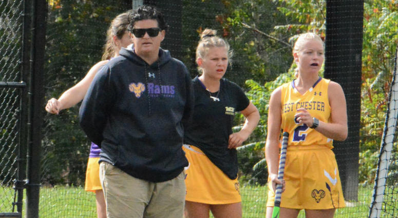 Amy Cohen is in her eighth season as head coach of the West Chester University field hockey team.
