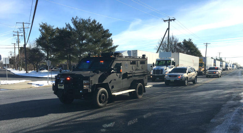 Police respond to reported active shooter at UPS facility in NJ