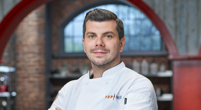 Edmond Konrad, chef de cuisine at Laurel restaurant, was one of two Philly chefs participating in the Top Chef reality competition.