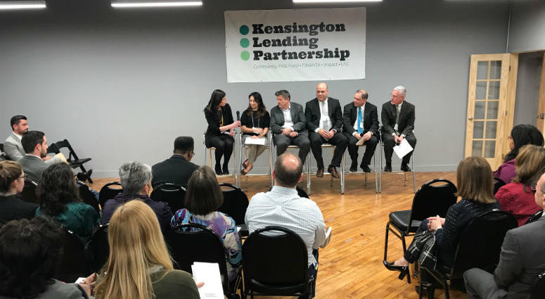 A new community partnership will help distribute $5 million worth of capital to underserved borrowers in the Kensington section of Philadelphia, with the goal of creating a resident-led revitalization effort.