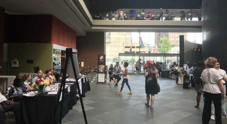 Art educators from across Philadelphia connected with more than 70 renowned local arts programs Wednesday at the third annual Arts Education Fair.