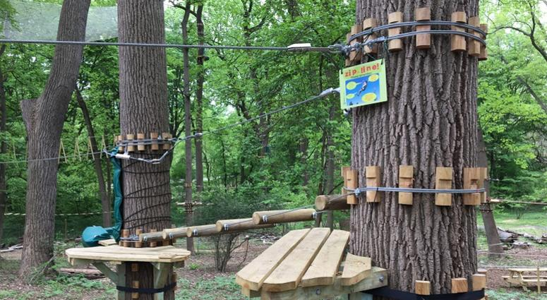 Treetop Quest opens to the public in Fairmount Park on Saturday.