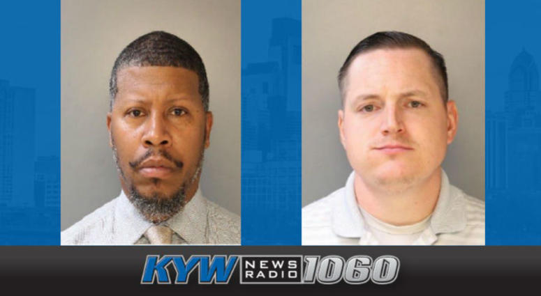 Officers Marvin Jones and Matthew Walsh have been suspended.