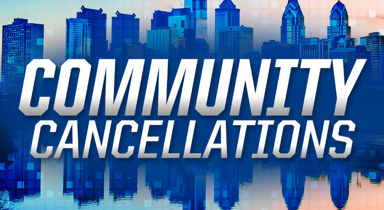 Community cancellations.