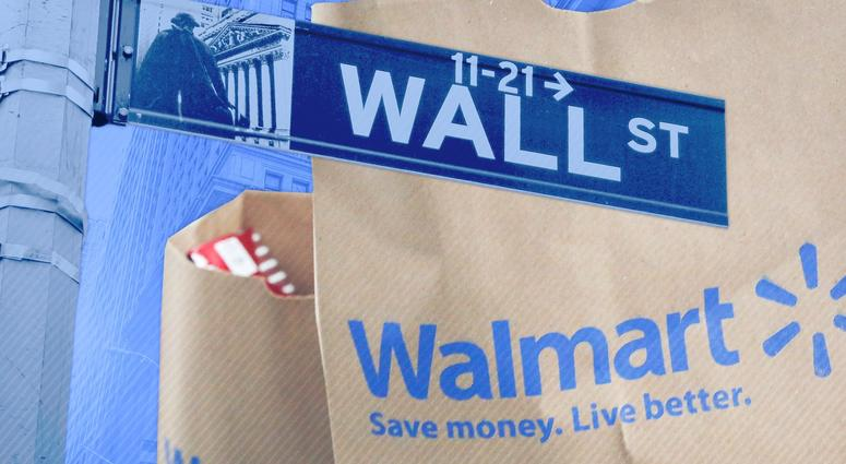 Walmart's stock had its worst day in 30 years the last time it answered to Wall Street analysts.