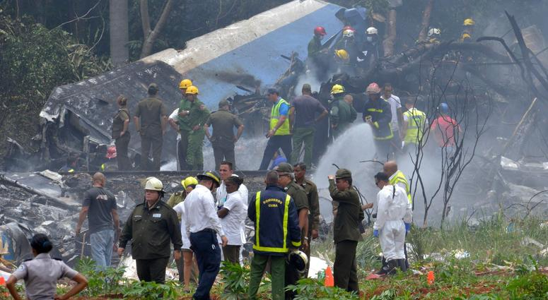 Cuban authorities believe more than 100 people were killed Friday when a Cubana de Aviacion Boeing 737-200 crashed on takeoff from Havana's Jose Marti International Airport