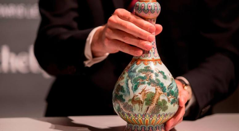 Family Finds Qing Dynasty Vase Worth 600000 In Attic Shoebox Kyw