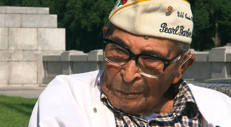 Ray Chavez, the nation's oldest survivor of the attack on Pearl Harbor, has died, the White House says. He was 106.