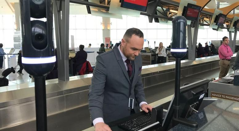 Air travelers in Atlanta can now use their faces as a passport to fly to other countries.