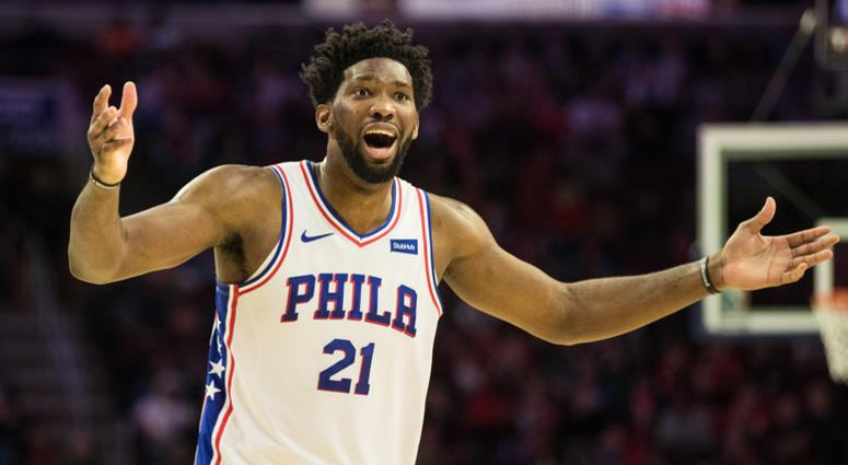Embiid frustrated by new role with Sixers