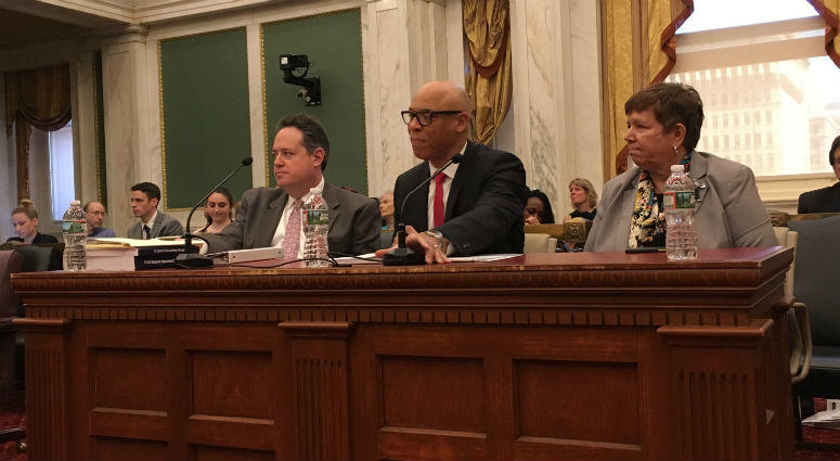 William Hite and the School District of Philadelphia make their funding case to City Council.