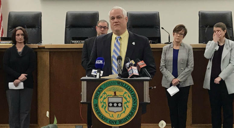 Bucks County announces Darkness to Light program to educate adults on how to recognize, prevent, or respond to and report child sex abuse.