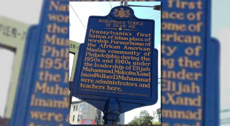 It's been nearly two months since a historical marker commemorating the Islamic Temple where Malcolm X once taught disappeared, and an effort to replace the marker is well under way.