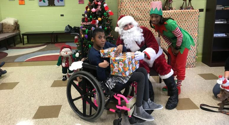 Philadelphia Police Officers Throw Party Give Gifts To Special