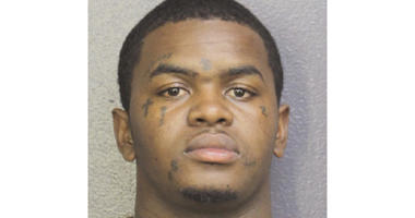 This photo provided by Broward Sheriff's Office shows Dedrick Devonshay Williams. The Broward Sheriff's Office said in a news release sent Thursday, June 21, 2018, that Dedrick Devonshay Williams was arrested shortly before 7 p.m.