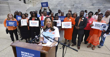 Lucy McBath, national spokeswoman for Moms Demand Action for Gun Sense in America, in March 2016. There are nearly 50 black women running for Congress this year, including McBath, who is challenging GOP Rep. Karen Handel in Georgia.