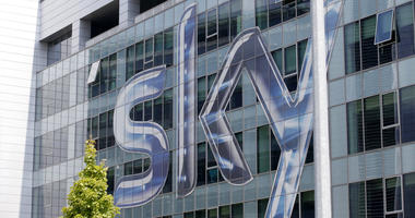 Headquarters of the Italian Sky television broadcaster