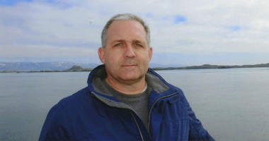 This undated photo provided by the Whelan family shows Paul Whelan in Iceland.