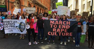 Participants at the 8th annual March To End Rape Culture